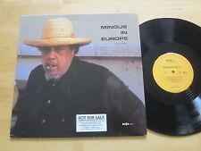 Charles Mingus in Europe Volume 1 LP Enja Germany Promo Eric Dolphy Ultrasonic