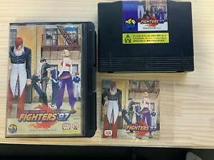 The King of Fighters 97 AES SNK Neogeo Box From Japan