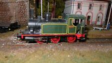 LIMA locomotiva a vapore 030-0234 livrea verde e nero HO 1:87