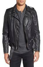 Schott NYC Hand Vintaged Slim Fit Leather Motorcycle Jacket Size M $860 retail