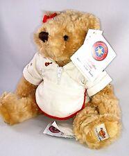 HRC Hard Rock Cafe MONTREAL 30th Anniv WAITRESS Plush TEDDY BEAR Herringtons