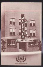 1940s POSTCARD ATLANTIC CITY NJ/NEW JERSEY HOTEL MAYFAIR