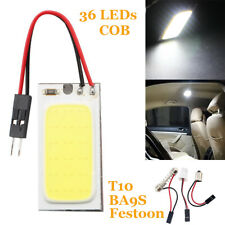 Car Vehicle LED COB HID Dome Map Light Bulb Interior Panel Lamp 36LEDs T10 BA9S