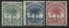 Samoa 1886 1d, 4d, 1/, mint o.g.