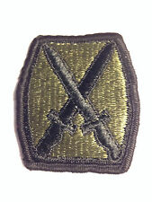 MILITARY -US ARMY- 10TH MOUNTAIN DIVISION PATCH