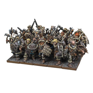 Clansmen Regiment - Northern Alliance (Kings of War)