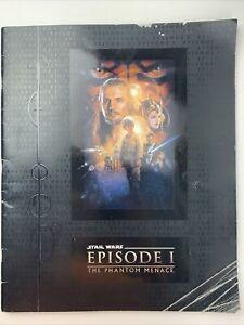 Star Wars Phantom Menace Episode 1 Press Book 1999