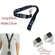 Quick Release Leash Neck Strap Sling w/ Buckle Wrist Band for Gopro Hero 5 4 3+