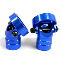 HY00339B1 1/10 Scale RC Invisible Magnetic Body Shell Mount Posts Alloy Blue x2