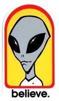 Alien Workshop - Believe Skateboard Sticker - skate board bmx guitar new sk8