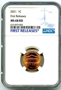 2021 P LINCOLN UNION SHIELD PENNY NGC MS68 FIRST RELEASES CENT RARE TOP POP=4