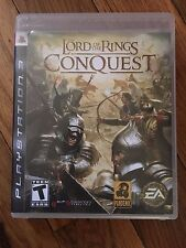 The Lord of the Rings: Conquest (Sony PlayStation 3, 2009) Complete