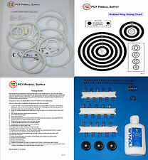 1977 Sears/Briarwood Cosmic Pinball Tune-up Kit - Includes Rubber Rings!