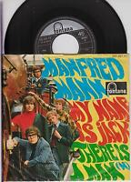"MANFRED MANN - My Name Is Jack - Original 1968 German 2-trk  7"" vinyl single-p/s"