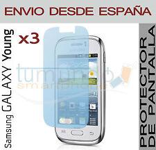 3x PROTECTOR de PANTALLA para SAMSUNG GALAXY YOUNG DUOS S6312 en ESPAÑA