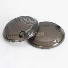 Smoke Turn Signal Lens Lenses Blinkers For 1999-2001 Suzuki GZ250 GZ 250