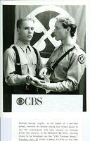 RAPHAEL SBARGE CHAD LOWE SO PROUDLY WE HAIL ORIGINAL 1990 CBS TV PHOTO