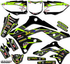 1994 1995 KX 125 250 GRAPHICS KAWASAKI KX125 KX250 DECO DECAL STICKERS 2-STROKE