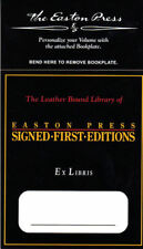 10) Signed First Edition Book Plates Easton Press