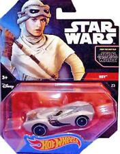 HOT WHEELS STAR WARS THE FORCE AWAKENS REY CAR - NEW - CHEAPEST