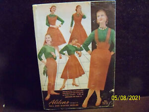 Vintage Aldens Catalog Fall and Winter 1955-1956 Clothes incl Davy Crockett