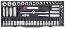 Proxxon Super Kompaktsatz Steckschlüsselsatz mit 3/8''-Ratsche 65-teilig 23112