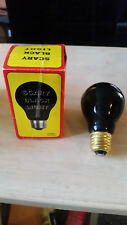 SCARY HALLOWEEN BLACK LIGHT PARTY LIGHT BULB