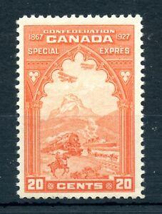 Weeda Canada E3 VF MNH 20c orange 1927 Special Delivery issue CV $150