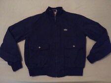 Mens Vintage IZOD Lacoste Jacket M Medium Navy Blue