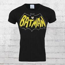 Logoshirt T-Shirt Männer Altes Batman Bat Logo Classic Herren TShirt schwarz Men