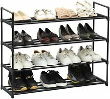 5Tier Metal Kitchen Tool Rack Shoe Rack Shelf  Storage Organizer Holder Entryway