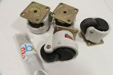 Lot of (4) Zambus Carrymaster AC-1000 Auto CFT.CO Casters