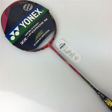 YY Voltric z force ii Pink badminton racket strung with overgrip vtzfii rackets