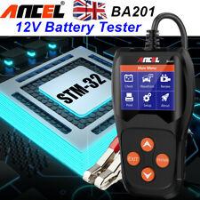 ANCEL 12V Car Battery Health Tester Battery Analyzer Diagnostic Tool 2000CCA 201