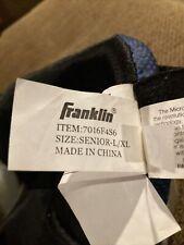 New Franklin Sh Comp 1700 Street hockey Knee Pads Senior-L/Xl black/blue