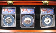 2011-12 Canada Set of 3 ANACS MS70 DCAM 1st Release Coins ** FREE U.S. SHIPPING