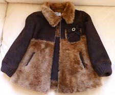 Warm D&G Dolce Gabbana Italy Spanish Lamb Sheepskin Shearling Fur Coat Jacket