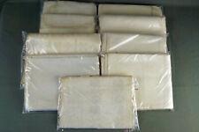 9x schönes antikes Leinen Handtuchleinen Damast 29,2 m 4,7 kg