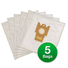 Replacement Type FJM Allergen Poly Wrapper Vacuum Bags For Miele 7291640A
