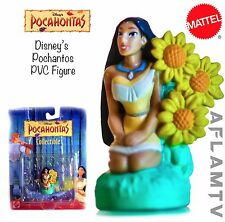 Pocahontas  With Flowers Figure Disney Mattel Figurine Rate New Vintage