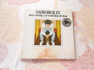Vinyl 45t Mirobilis Steve Waring et le workshop de Lyon
