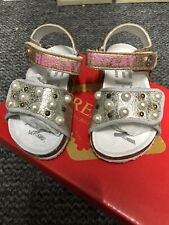 Replay Girls Pink Sandals, Brand New With Box, Size 22 UK 5