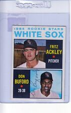 1964 TOPPS AUTOGRAPHED #368 DON BUFORD WHITE SOX ROOKIE GOOD #002428