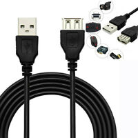 1.5M/5ft USB 2.0 Type A Male to A Female Data Sync Extension Cable For PC Laptop