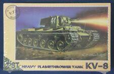 PST 72015: 1/72 KV-8 Heavy Flamethrower Tank