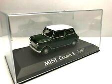 IXO RBA 1/43 MINI COOPER S 1967 DE SERIE CONCESIONARIO DIECAST