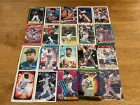 Lot of 100 Kirby Puckett Baseball Cards TOPPS DONRUSS SCORE FLEER TWINS+++