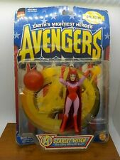 *SCARLET WITCH*Marvel Collector Edition*Avengers*Toy Biz*1997* Action Figure