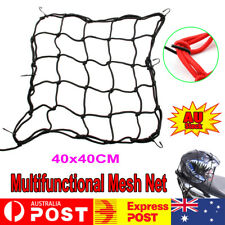 Universal 6Hook Motorcycle Hold Down Helmet Cargo Luggage Mesh Bungee Nets 40x40