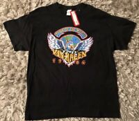 VAN HALEN 1984 TOUR OF THE WORLD Official T-SHIRT X-LARGE NWT Gildan